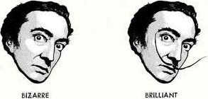 O bigode de Salvador Dalí