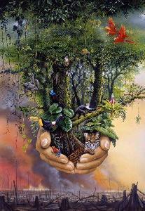 Uma poesia vibra no éter quando o poeta  desce ao útero da terra...