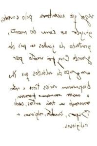 Uma carta de amor � moda antiga
